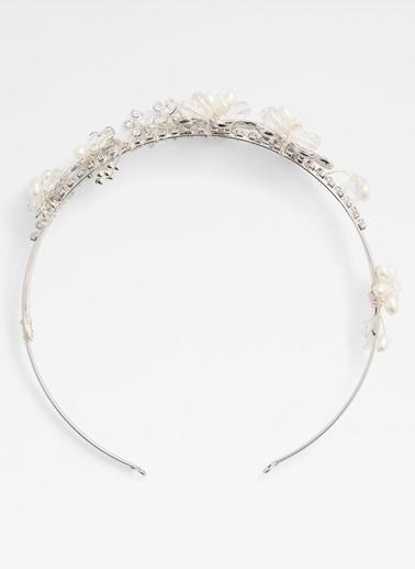 Aldo Kolner - Gümüş Taşli Saç Aksesuari Gümüş